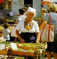 [ IMAGE: Greengrocer from Konavle at the